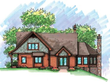 Split-Level House Plan, 020H-0205