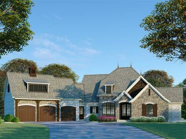 Waterfront House Plan, 074H-0072