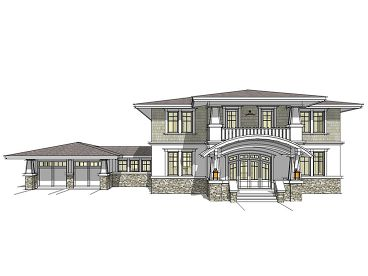 Luxury House Plan, 052H-0058