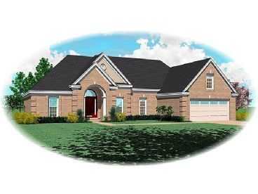 Traditional House Design, 006H-0086