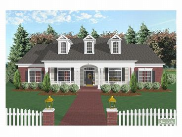 1-Story House Plan, 007H-0049