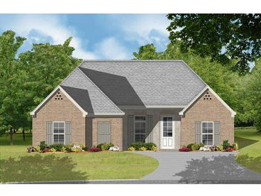 Ranch House Plan, 060H-0016