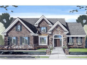 European Home Plan, 046H-0026