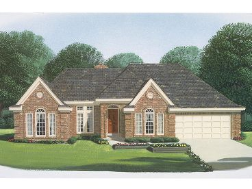 One-Story House Plan, 054H-0082