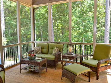 Screen Porch Photo, 019H-0156