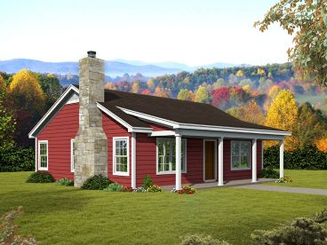 Vacation House Plan, 062H-0175