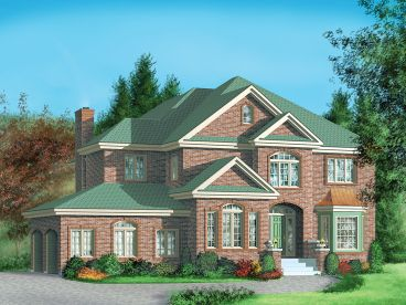 Traditional House Plan, 072H-0011