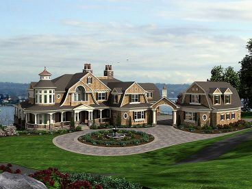 Unique House Plan, 035H-0099