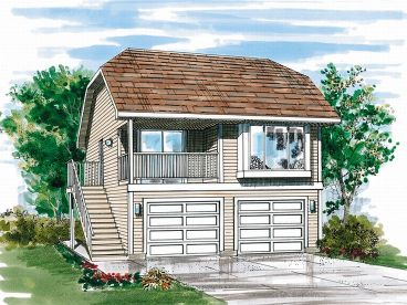 Carriage House Plan, 032G-0001