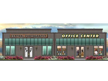 Commercial Building Plan, 006C-0015