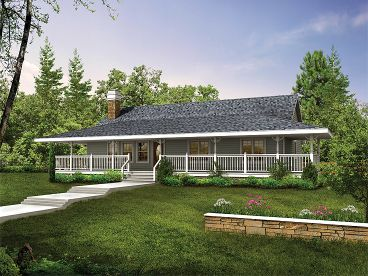 Country Home Plan, 032H-0078