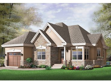 Small Home Plan, 027H-0181