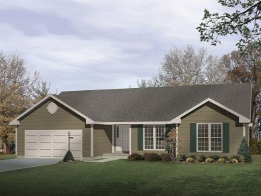 Traditional Home Plan, 005H-0023