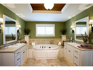 Master Bathroom Photo, 007H-0125