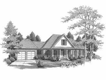 European House Plan, 019H-0072