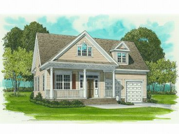 1-Story House Plan, 029H-0006