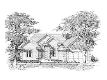 One-Story House Plan, 061H-0060