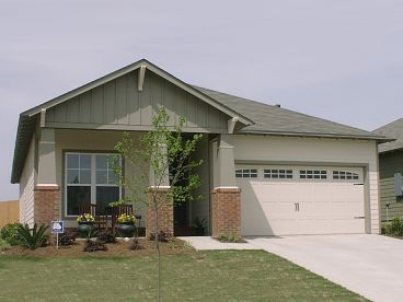 1-Story Bungalow House Plan, 073H-0128