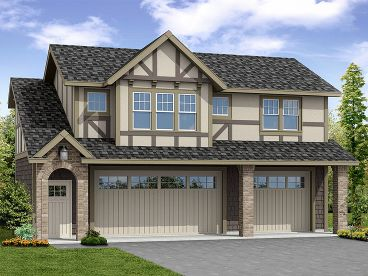 Carriage House Plan, 051G-0101