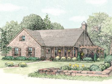 Country House Plan, 042H-0040