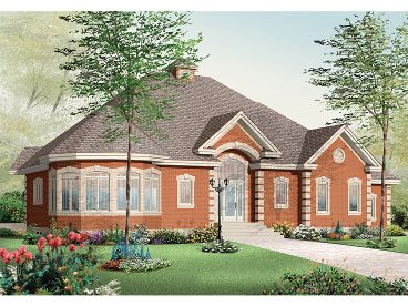 Traditional House Plan, 027H-0191