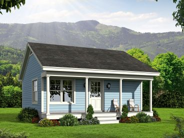 Vacation House Plan, 062H-0039