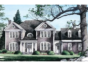 Luxury House Plan, 063H-0169