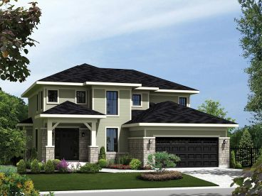 Contemporary House Plan, 072H-0146