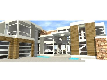 Contemporary Home, 052H-0100