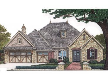 European Home Plan, 002H-0054