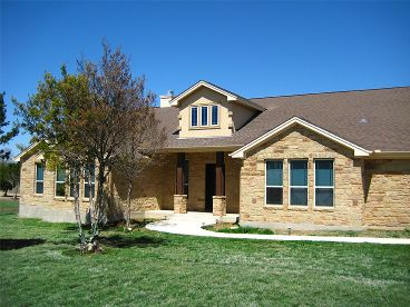 Ranch Home Plan Photo, 036H-0064