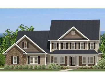 Two-Story Home Design, 067H-0041