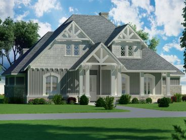 Family House Plan, 021H-0254