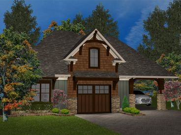 Carriage House Plan, 049G-0001