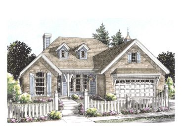 Country house plans affordable one story country home for Affordable country house plans