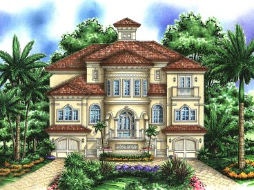 Unique Home Plan, 037H-0077