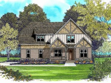 Craftsman Home Design, 029H-0114