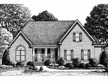 Ranch House Plan, 011H-0029