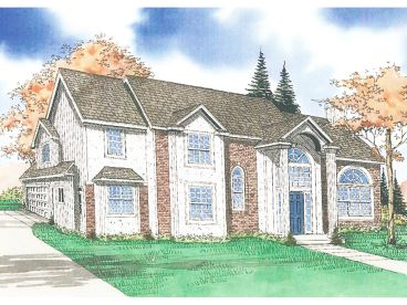2-Story House Plan, 009H-0029