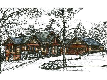 Waterfront House Plan, 025H-0191