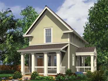 Small House Plan, 034H-0384