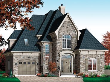 European House Plan, 027H-0400