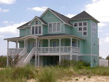 Beach House Plan, 041H-0129