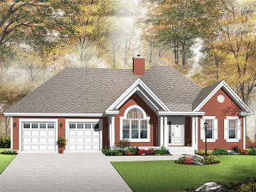 Traditional Home Plan, 027H-0250