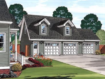 Carriage House Plan, 047G-0035