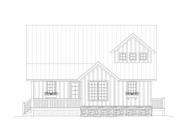 Narrow Lot House Plan, 062H-0003