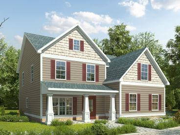 Two-Story Home Design, 019H-0171