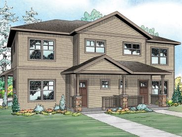Multi-Family House Plan, 051M-0023