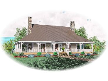 Country Home Design, 006H-0069