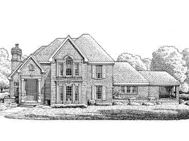 Luxury Home Plan, 054H-0060